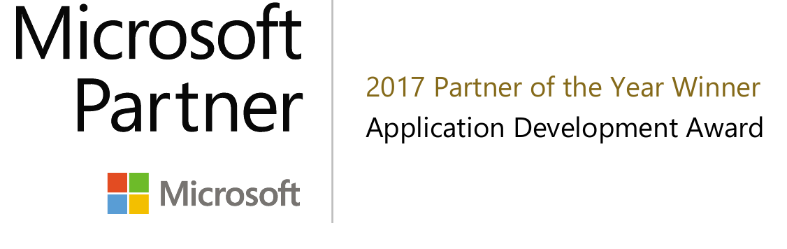 "ICONICS élu Partenaire Microsoft de l'année 2017 ""Application Development Partner of the Year"""