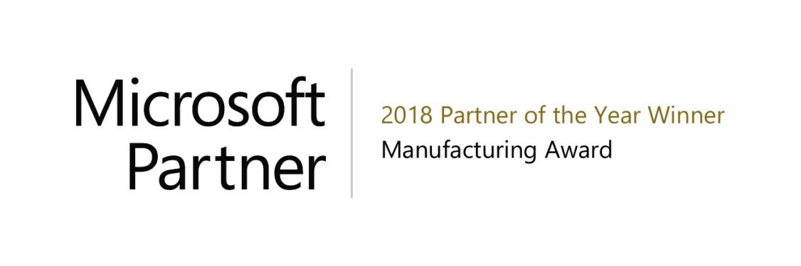 """ICONICS élu Partenaire Microsoft de l'année 2018 """"Manufacturing"""""""